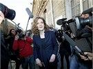 Kandidátka konzervativní strany UMP Nathalie Kosciusková-Morizetová míří do
