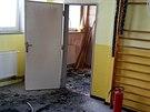 Požár ve školce v Kralupech způsobilo dítě se zapalovačem.