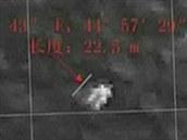 Objekt, který v Indickém oceánu obejvily čínské satelity. Jsou to trosky...
