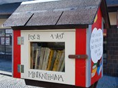K vytvoření Soví budky se šéfka knihovny inspirovala v Kanadě nebo třeba