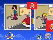 Náhled interaktivní hry ze 3. stanoviště Alíkovy hry Staň se záchranářem