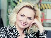 Zuzana Ceralová Petrofová, prapravnučka zakladatele firmy na výrobu klavírů.