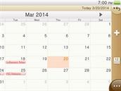 PS Vita - aplikace kalendář
