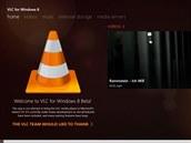 I v�betaverzi zvl�dne aplikace VLC v�ce funkc� ne� standardn� p�ehr�va�...