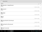 Cast Store v�m porad�, kter� aplikace podporuj� za��zen� Chromecast od Googlu