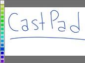 CastPad promění vaši televizi vtabuli na kreslení. Musíte mít ovšem i zařízení...