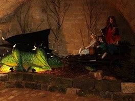 Ve sklepení Starých Hradů se usadili překrásní draci