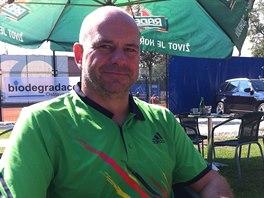 Ostravsk� podnikatel a lobbista Martin D�dic, kter�ho zadr�ela protikorup�n� policie.