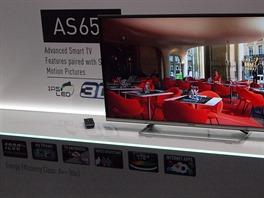 I základní řada televizorů AS650 už nabízí hlasové ovládání a funkce my Stream...