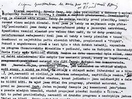 Karel Kryl: strojopis vlastního životopisu