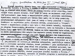 Karel Kryl: strojopis vlastn�ho �ivotopisu