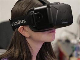 Virtuální realita Oculus Rift