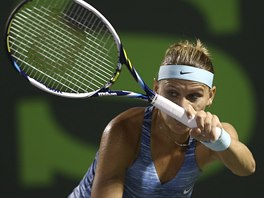 Lucie Šafářová na turnaji v Miami