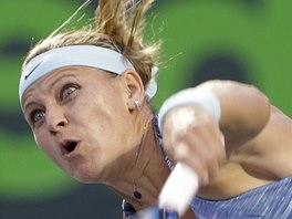 Lucie �af��ov� na turnaji v Miami