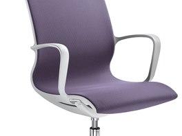 Židle Evereday má sedák ze skořepiny z unikátně zpracovaného nylonu vyztuženého skelnými vlákny.