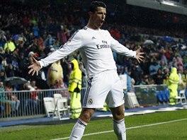 KDO JE TADY PÁN... Útočník Realu Madrid Cristiano Ronaldo (na snímku) otevřel...
