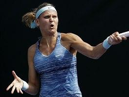 Lucie Šafářová na turnaji v Miami.