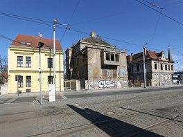 Na ulici Milady Horákové by měl vyrůst administrativní palác Letná Office Park.