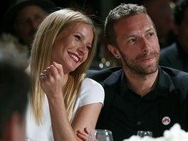 Gwyneth Paltrowová a Chris Martin (11. ledna 2014)