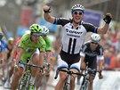 Německý cyklista John Degenkolb se raduje z vítězství v belgické klasice