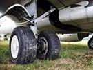 Nehoda Boeingu v Pardubicích v srpnu 2013