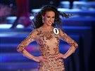 Tereza Skoumalov� na fin�le sout�e �esk� Miss 2014 (29. b�ezna 2014)