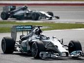 Lewis Hamilton - suvérénní král Velké ceny Malajsie.