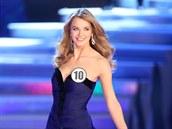 Gabriela Franková na finále soutěže Česká Miss 2014 (29. března 2014)