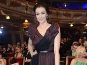 Iva Kubelková na České Miss 2014 (29. března 2014)