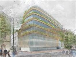"""Nový dům bude o poznání zelenější a méně """"hranatý"""". Uvnitř také vznikne atrium"""