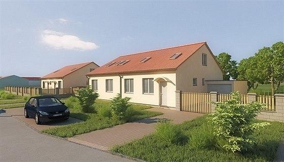Unhošť - rodinné domy v přírodě s dobrou dostupností do Prahy