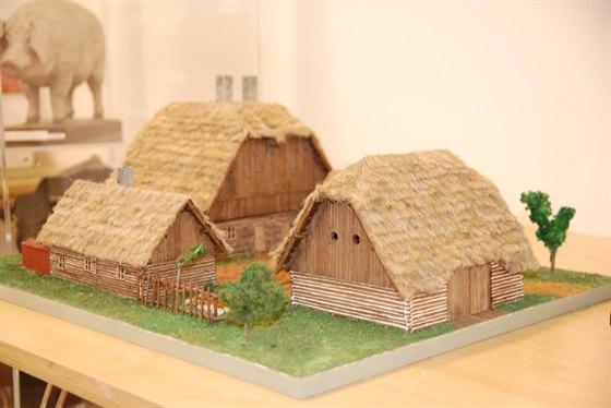 Model venkovského stavení