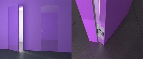 Nenápadné dveře FLAT, kde zcela mizí zárubně a dveřní křídlo navazuje na plochu...