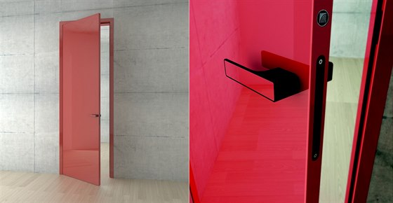 Nejprodávanější interiérové dveře HANÁK MILLENIUM, zobrazené provedení: lak...
