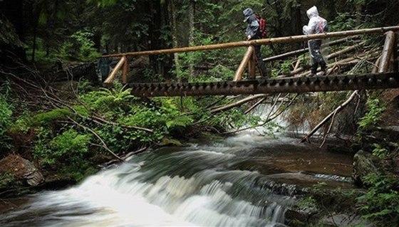 Vodopády Bílé Opavy - kouzlo přírody Jeseníků