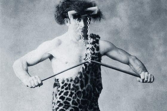 Mnohé Greensteinovy kousky byly založeny na síle jeho vlasů a krku.