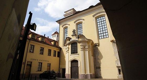 Odsvěcený kostel sv. Michaela v Praze