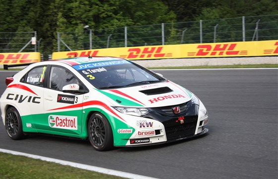 Za Hondu nastoupí opět bývalí jezdci F1 Tarquini a Monteiro.