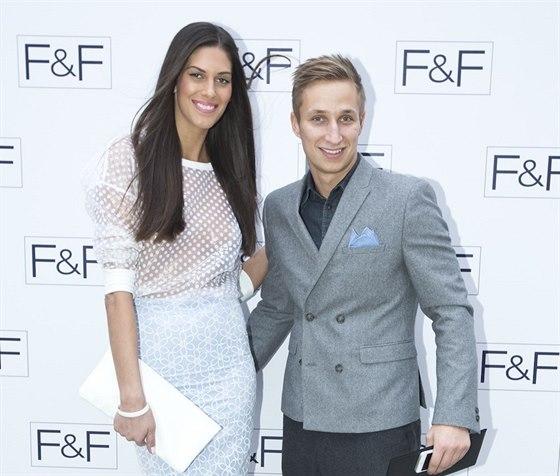 Aneta Vignerová se svým přítelem Michalem Zemanem