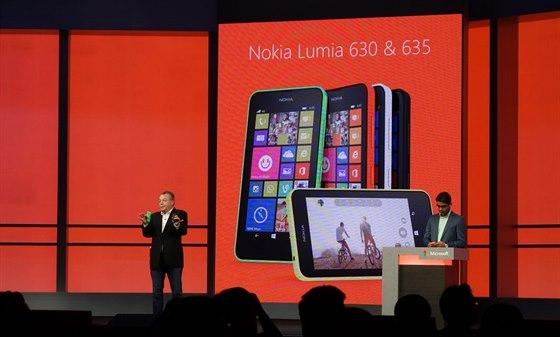 Mimo top-modelu Lumia 930 představil ředitel Nokie i cenově dostupné Limia 630...