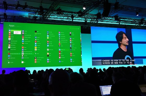 Rozhraní Windows se přizpůsobuje pro obsluhu klávesnicí a myší.