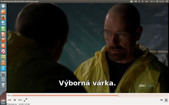 "Vestav�n� ""P�ehr�va� film�"" funguje v�born� v�etn� zobrazen� titulk�, u..."