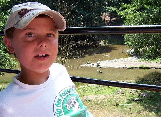 Martin je od osmi let upoután na invalidním vozíku.