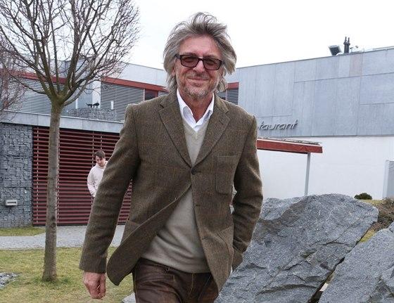 Architekt Jaromír Pizinger při slavnostním otevření další pobočky kliniky