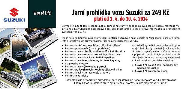 Proč má Simcar servis s největším obratem originálních dílů Suzuki v ČR?