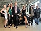 Premiéra sportovního Jaguaru v novém pražském autosalonu Dajbych