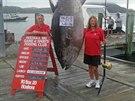 Dosud nejětší ulovený tuňák ve sportovním rybolovu