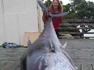Donna a jej� �ivotn� ryba