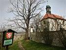 Kostel v Tetíně u Berouna, kde by mohla být pochována sv. Ludmila