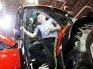 V Brn� na veletrhu Techagro p�edstavil Zetor sv�j nov� traktor Forterra HD....